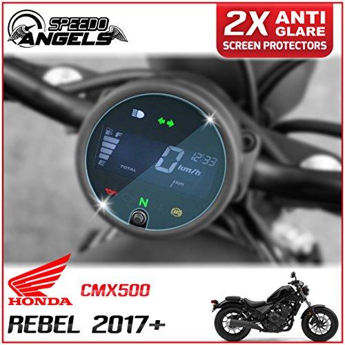 Speedo-Angels 2 x Honda Rebel CMX500 (2017>) Velocímetro/Speedo/Tacho Protector de pantalla - Anti Reflexión