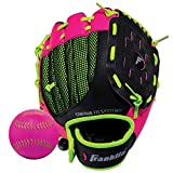 Franklin Sports Neo-Grip Teeball Gloves, Pink, Right Hand Throw, 9-Inch