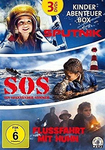 Kinder Abenteuer Box: Flußfahrt mit Huhn / Sputnik / S.O.S. - Ein spannender Sommer (3 DVDs)