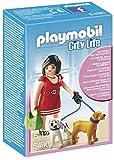 Playmobil Centro Comercial - City Life Mujer con Cachorros Playsets de Figuras de jugete, Color Multicolor (Playmobil 5490)