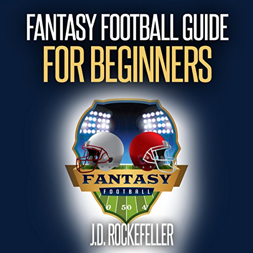 Fantasy Football Guide for Beginners audiobook cover art