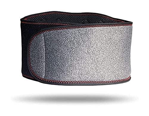 GDYJP Cinturón de Soporte Lumbar de Soporte Inferior de autocalentamiento, con imán para aliviar el Dolor de la escoliosis Herniado Disc Disc Disc Enfermedad (Tamaño : 115 * 19cm)