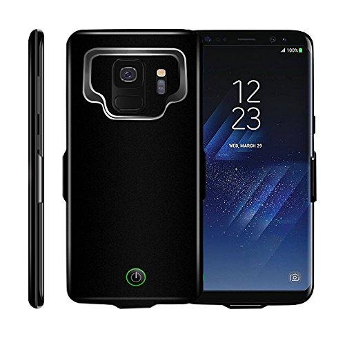Idealforce - Funda para Samsung Galaxy S9/S9 Plus, Cargador de batería Externo, 7000 mAh, magnética, Cargador portátil, Funda de Carga Protectora para Samsung Galaxy S9/S9 + S9 Plus
