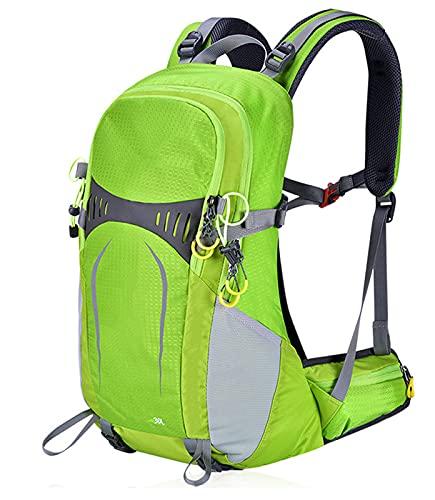 DYJXIGO Zaino da Escursionismo in Bicicletta, Campeggio da Daypack da Daypack con Coperchio di Pioggia Zaino Alpinismo Sacchetto Sci per Lo Sci per Uomo per Gli Uomini Green