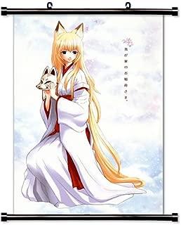 Our Home's Fox Deity (Wagaya no Oinarisama) Anime Fabric Wall Scroll Poster (32 x 48) Inches