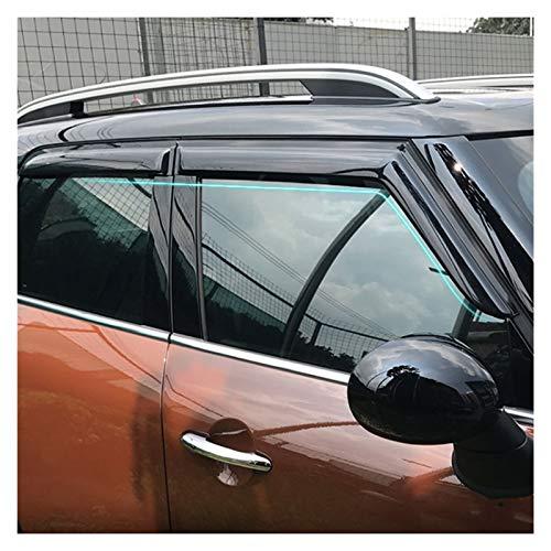 Deflectores de Viento para Mini Cooper Countryman F60 2017 2018 2019 ABS Ventana Visitas Toldos Lluvia Sun Deflector Guard Cubiertas Visera Lateral