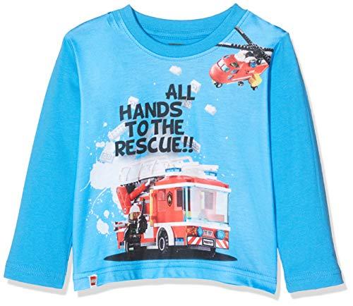 LEGO Baby-Jungen CM-50416-T-SHIRT S/S T-Shirt, Blau (Blue 539), (Herstellergröße: 98)