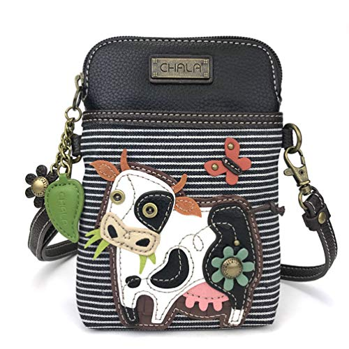 Chala Cell Phone Crossbody Cow Stripe
