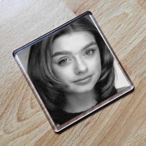 Seasons DANIELA DENBY-ASHE - Original Art Coaster #js002