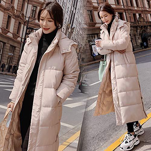 Parka Jas Lady Kleding Bovenkleding Katoen Extra Lange Winterjas Vrouwen Maxi Lange Hooded Plus Size Vrouwelijke Warm Dikke 2019 Mode
