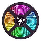 Rollo de 5 metros de Tira de Luz LED RGB 24 Voltios. 14,4w. Impermeable (IP65). Corte cada 10cm. Strip RGB. Alta calidad.