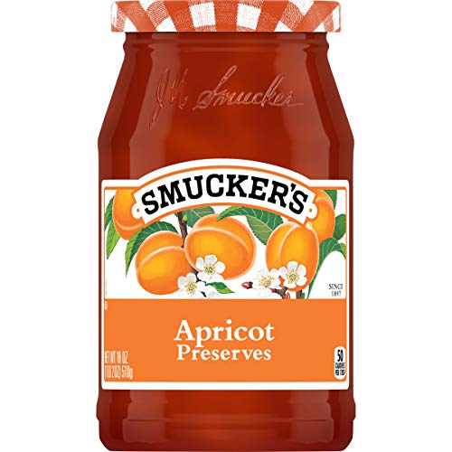 Smucker's Preserves, Apricot, 18 oz