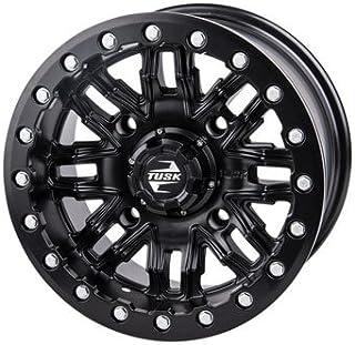 4/137 Tusk Nebo Beadlock Wheel 14x7 4.0 + 3.0 Matte Black for Can-Am Maverick X3 X DS Turbo R 2017-2018