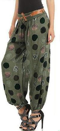 Haremshosen Frauen Große Größen Gummiband Hosen Stretch High
