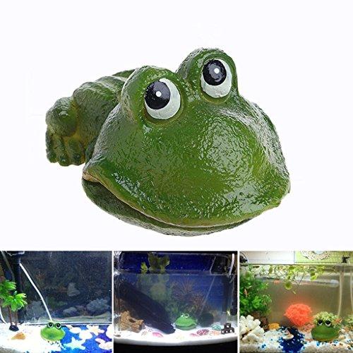dairyshop Aquarium Süßes Frosch Air Bubble Bubbling Stein Sauerstoff Pumpe AQUARIUM Ornament Dekor Neu