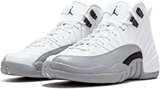 Nike Air Jordan 12 Retro GG [510815-108] Basketball Barons White/Black-Wolf Grey/US 4.0Y