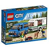 LEGO city Great Vehicles Furgone e Caravan, 60117