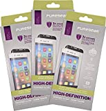 Bundle - 3 Items: PureGear Tempered Glass Screen Protector + Easy Install Tray for Google Pixel 2 XL