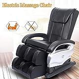 MASSAGE Newest Electric Full Body Shiatsu Massage Chair Foot Roller Zero Gravity Recliner