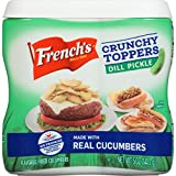 French's Dill Pickle Crunchy Toppers, 5 oz