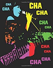 Cha Cha Notebook: Blank Line Composition Writing College Ruled Journal