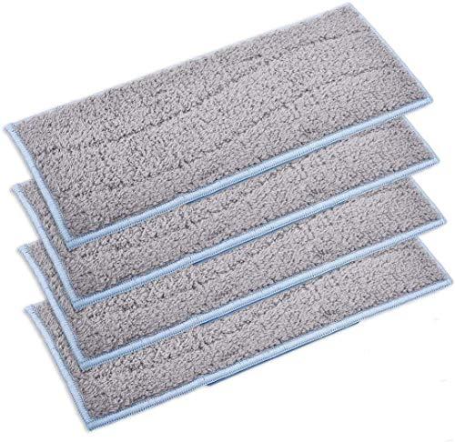 LXY Accesorios Almohadillas húmedas de repuesto para iRobot Braava Jet M6 almohadillas secas lavables (color : 4 almohadillas húmedas)