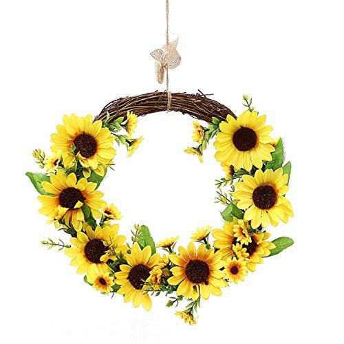 NLRHH Hokey Sunflower Guirnalda de Guirnalda de la Guirnalda de la Pared de la Pared de la Guirnalda de la Pared de la Bandeja de la Boda en Bricolaje Peng