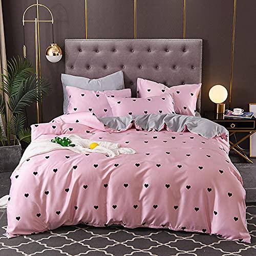 Juegos De SáBanas Infantiles 105,Funda de seda, ligera de lujo suave y transpirable individual de doble cama de soltero almohada de almohada, adecuada para habitación de habitación habitación para ni