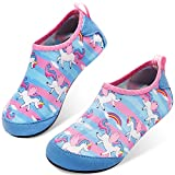 JOINFREE Girls Indoor Anti-Slip Shoes Kids Comfortable Athletic Shoes for Beach Boating BP