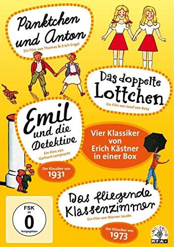 Erich Kästner-Box (4 DVDs): Vier Klassiker von Erich Kästner in einer Box