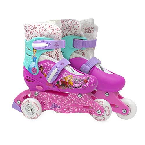 ABC Toys Patines para niñas de la Marca Disney Princesa (18-21)