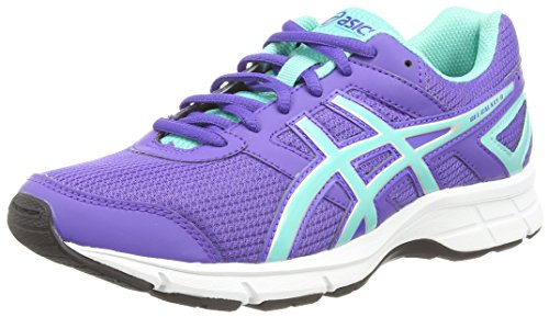 ASICS Gel-Galaxy 8 Gs - Zapatillas de correr para niños, unisex, color azul (blueberry/blue green/silver 5283), talla 36