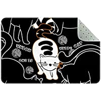 エリアラグ軽量 白猫 フロアマットソフトカーペットチホームリビングダイニングルームベッドルーム