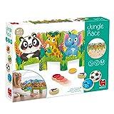 Goula Jungle Race-Juego Preescolar dinámico para niños a Partir de 3 años, Multicolor (53472)