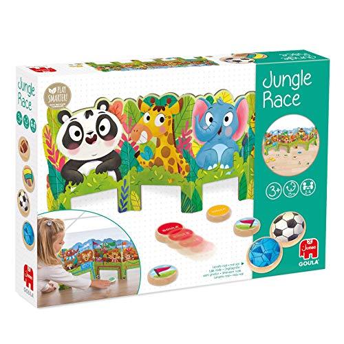 Goula, Jungle Race, Juego preescolar dinámico para niños a partir de 3 años