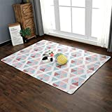 Feidaeu Children Crawling Area Rugs Soft Blanket Nordic Bedroom Bedside Tatami Floor Mat Anti-slip Outdoor Tent Carpet