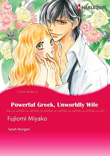 Powerful Greek, Unworldly Wife: Harlequin comics (English Edition)