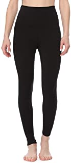 EVCR Compression Leggings for Women - High Waisted Full Length Non See Through Soft Athletic Yoga Pants for Workout