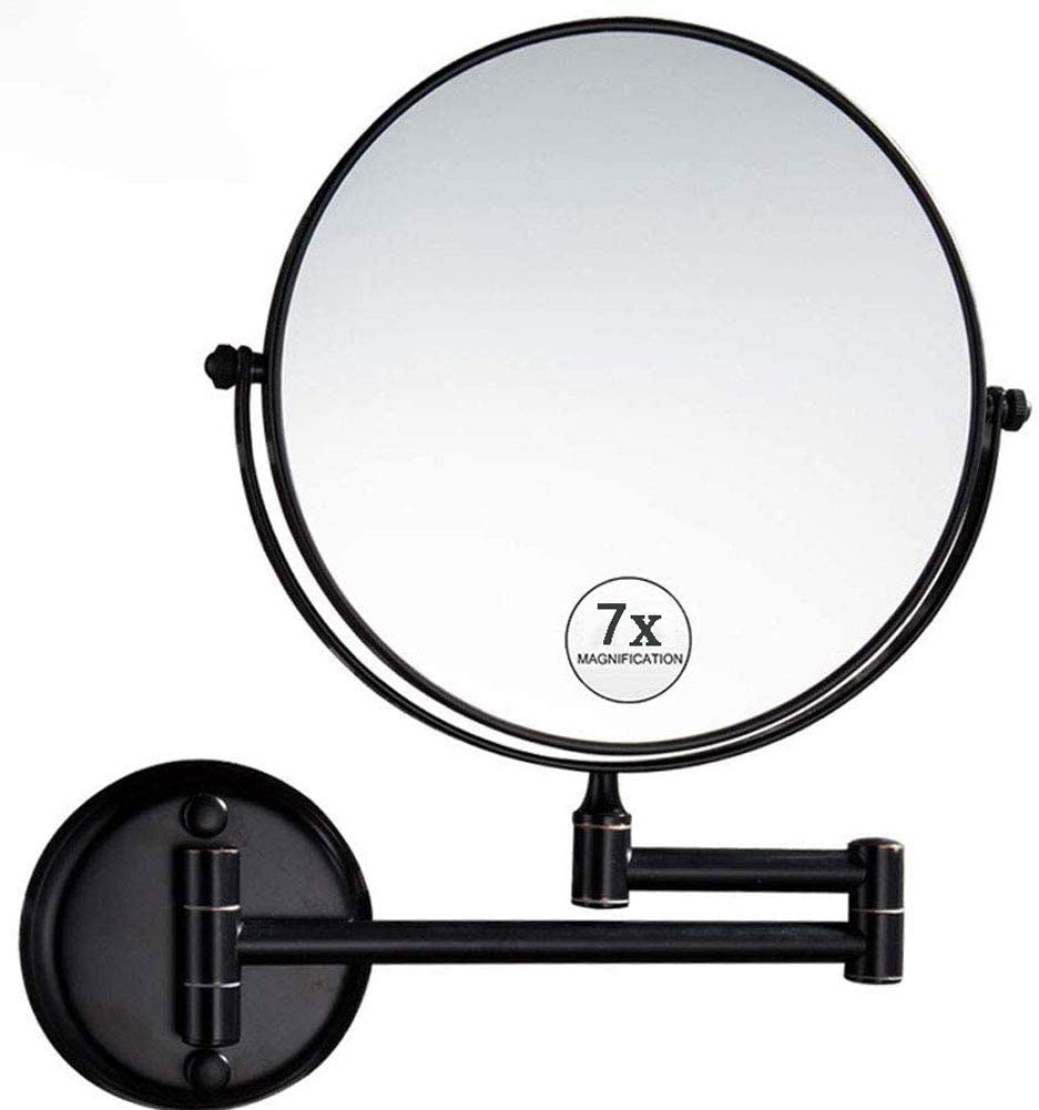Wall Mount List price Makeup Mirror with Magn Reservation Magnification 7X Double Sided