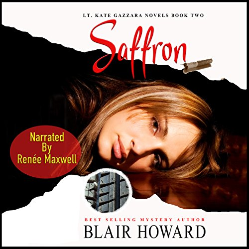 Saffron audiobook cover art