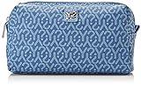 YNOT Gu0304/pe18, Borsa a tracolla Donna, Blu (Jeans), 6.5x15x21 cm (W x H x L)