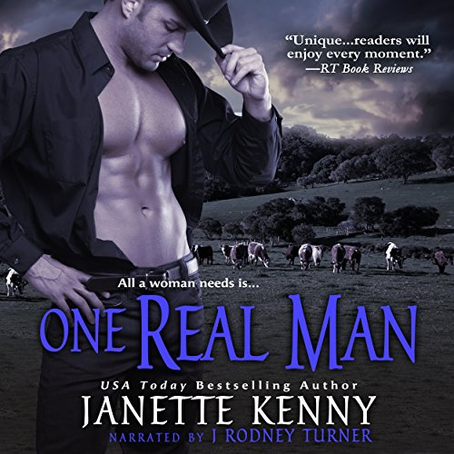 One Real Man audiobook cover art