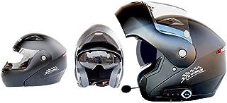 LIUJIE Bluetooth Integrated Modular Flip Full Face Motorcycle Helmet Sun Shield MP3 Walkie Talkie Helmet