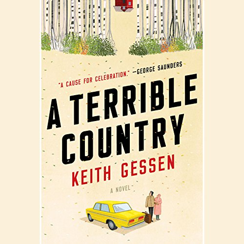 A Terrible Country audiobook cover art