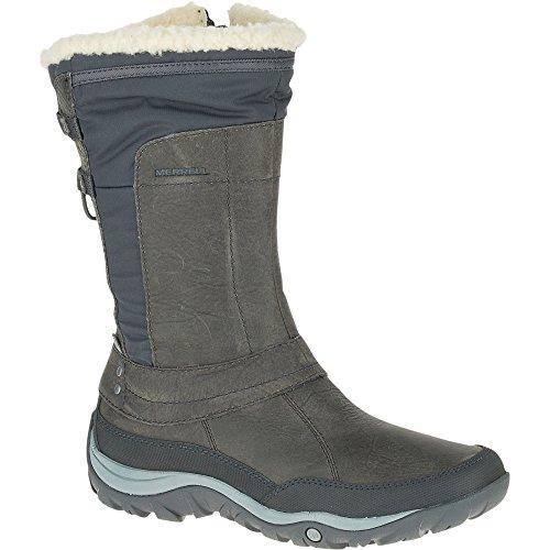 Merrell Murren Mid Waterproof, Botas de Nieve para Mujer, Marrón (Brackenbracken), 39 EU