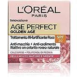 l'oréal paris crema viso giorno age perfect golden age, azione anti-età per pelli mature, spf 20, nutre la pelle in profondità, 50 ml