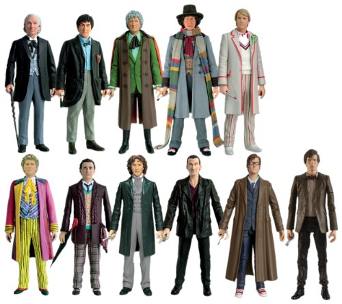 Doctor Who 11 Doctors Action Figure Collector Set