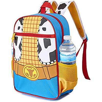 Nursery Or Preschool Bag Or Toddlers Travel Bag Fun Kids Rucksack with Classic Woody and Jessie Cow Boy Cow Girl Designs Perfect Children School Bag Jessie Toy Story 4 Backpack