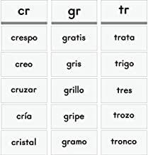Really Good Stuff Essential Word Sorts Cards -Spanish - Beginning Blends and Diphthongs