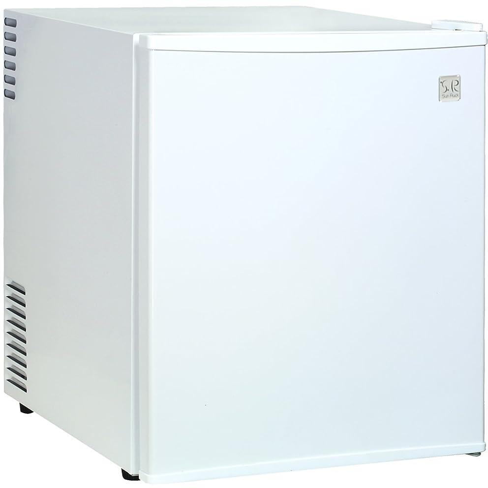 コース火薬迷惑Sun Ruck (サンルック) 冷庫さん 冷蔵庫 小型 48L 霜取り不要 ペルチェ方式 一人暮らし 1ドア 右開き ホワイト